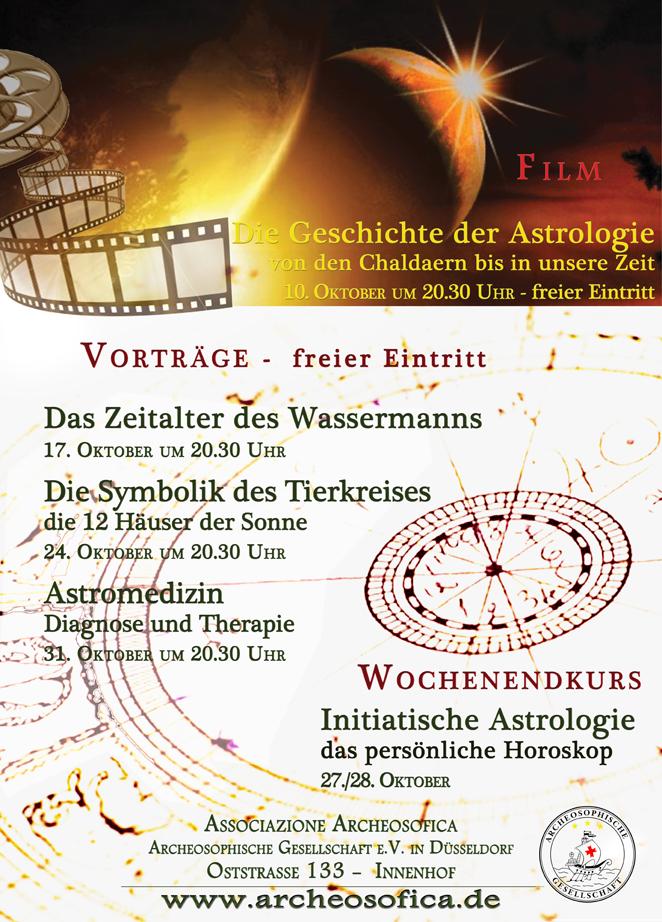 Astrologie Oktober