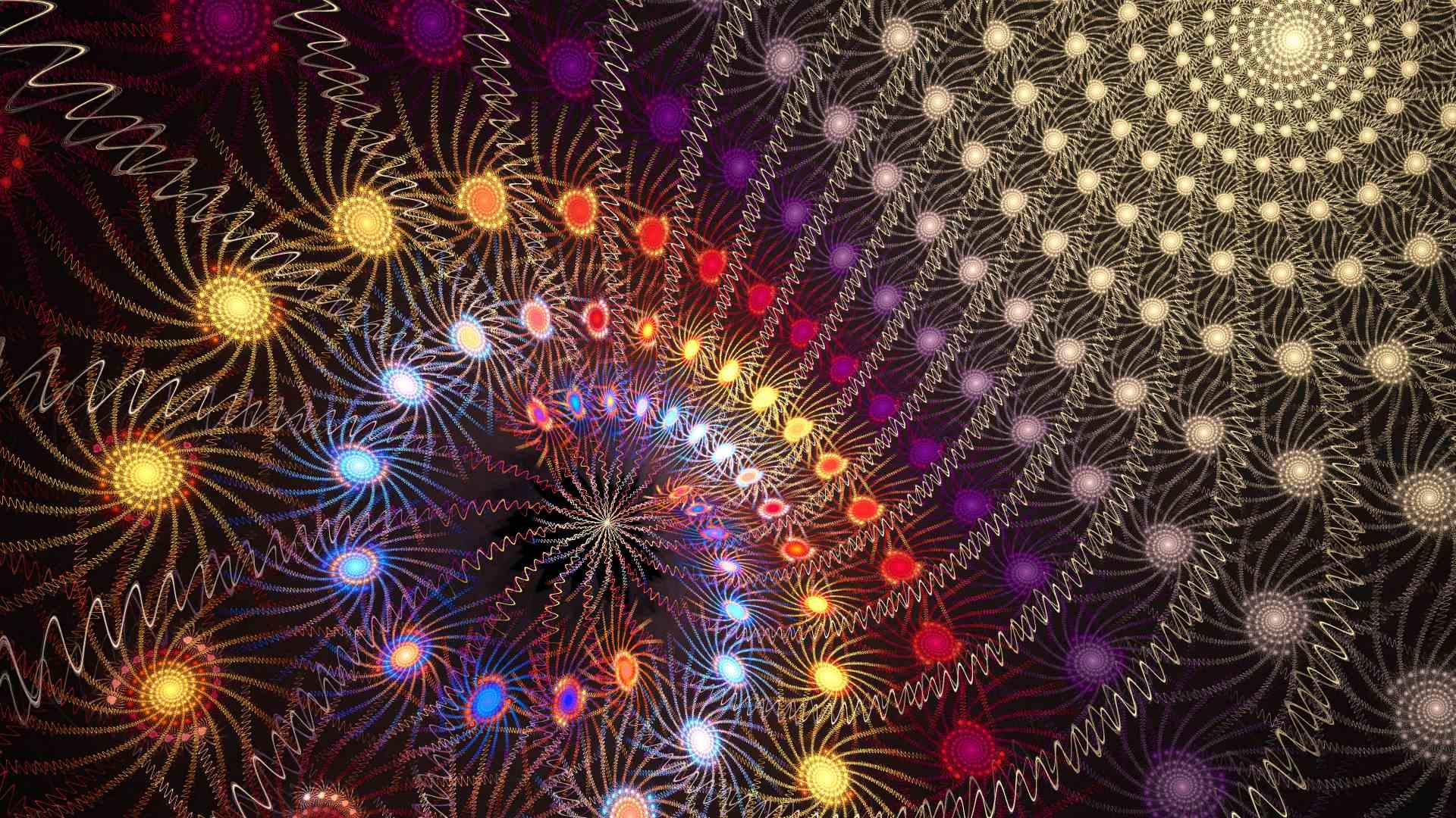 Licht Farben und Klang im Weltall