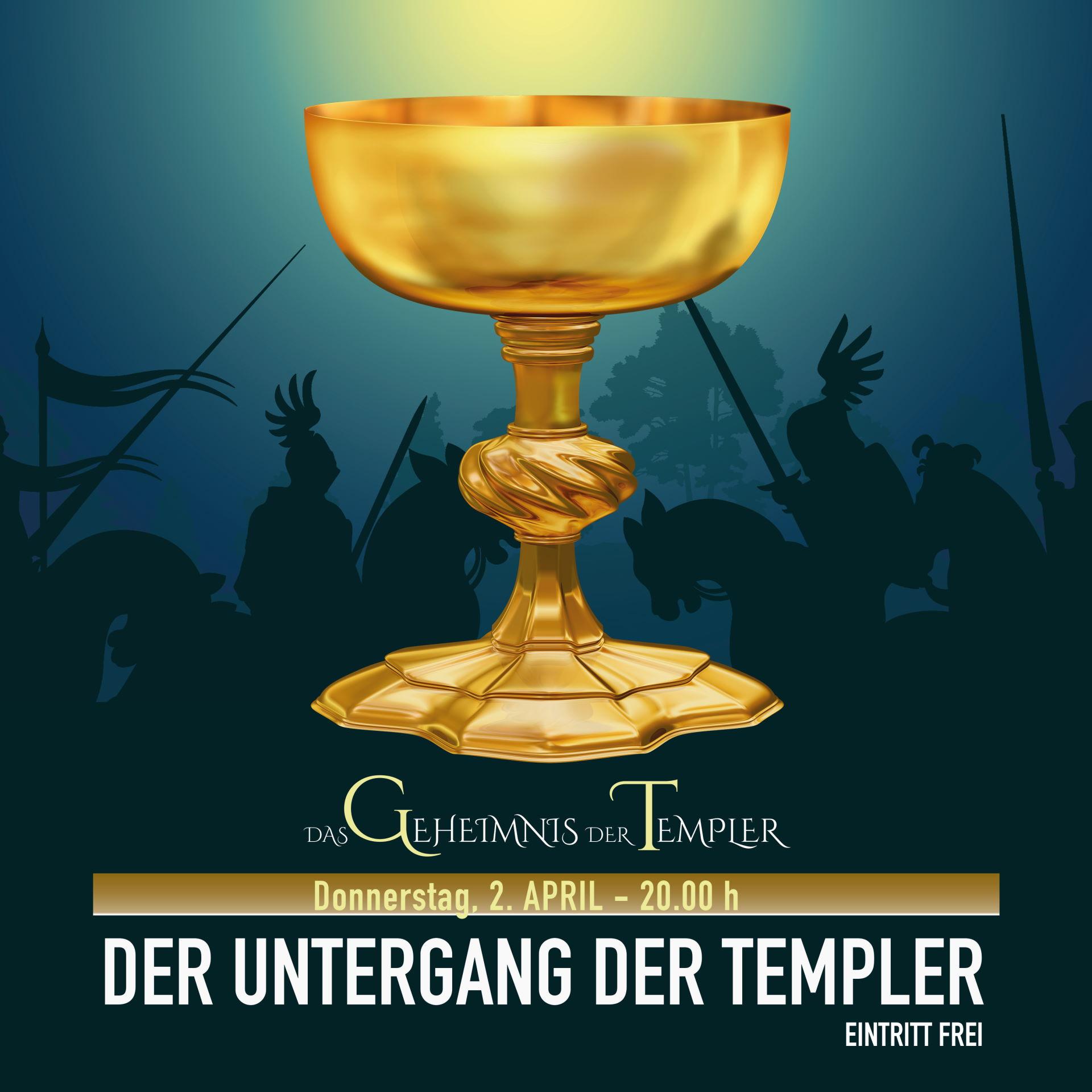 Das Geheimnis der Templer - Der Untergang der Templer
