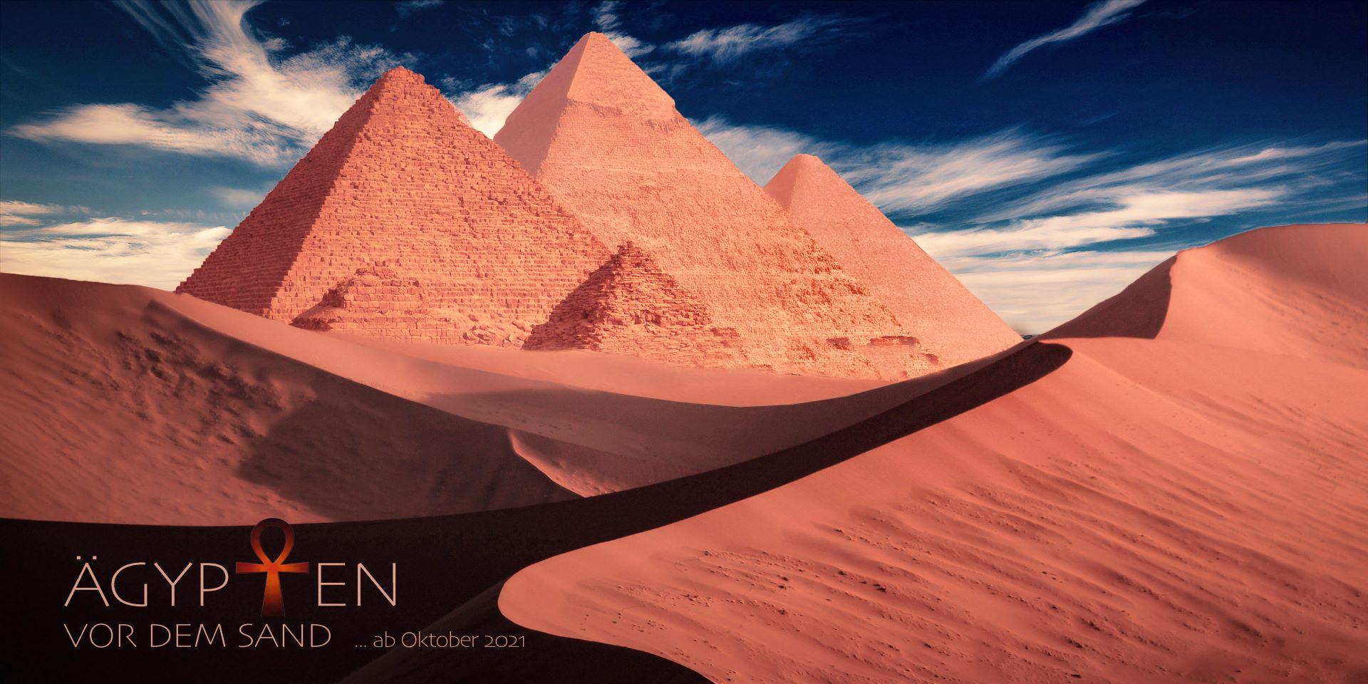 Ägypten vor dem Sand hell Klein